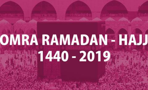 OMRA RAMADAN -HAJJ-2018
